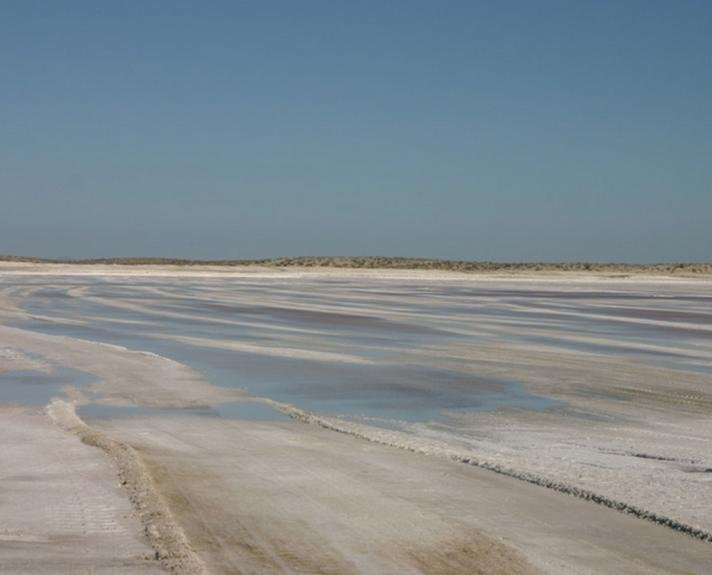 Salt mine of Guerrero Negro