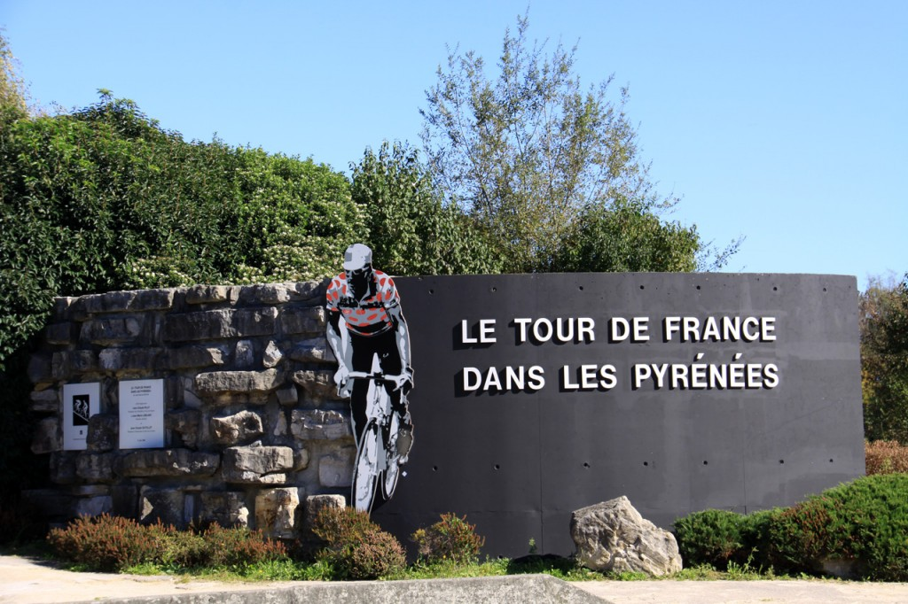 Tour de France in the Pyrenees