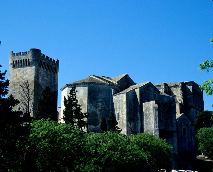 Fortified Montmajour Abbey