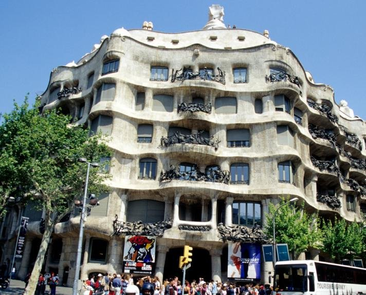 Milà house (called La Pedrera)