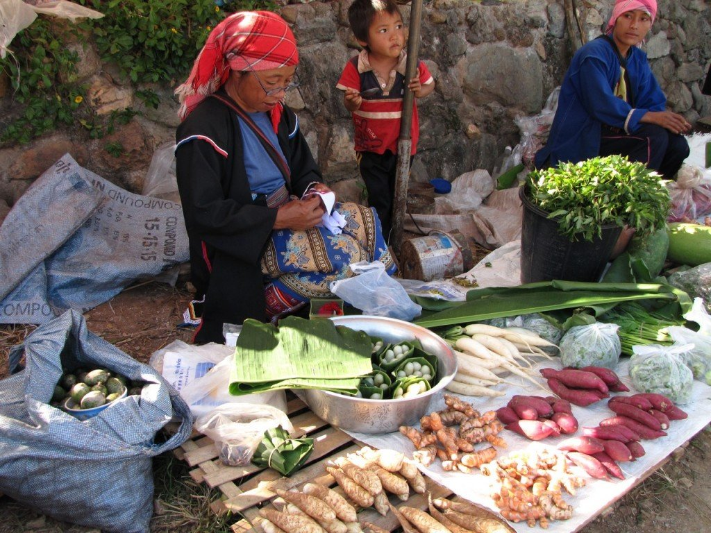 Mercato di Doi Mae Salong