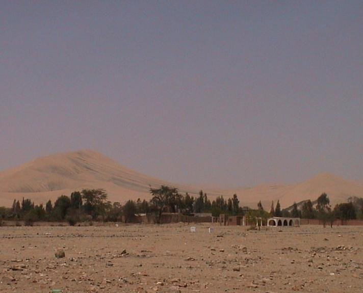 Oases and dunes of Huacachina